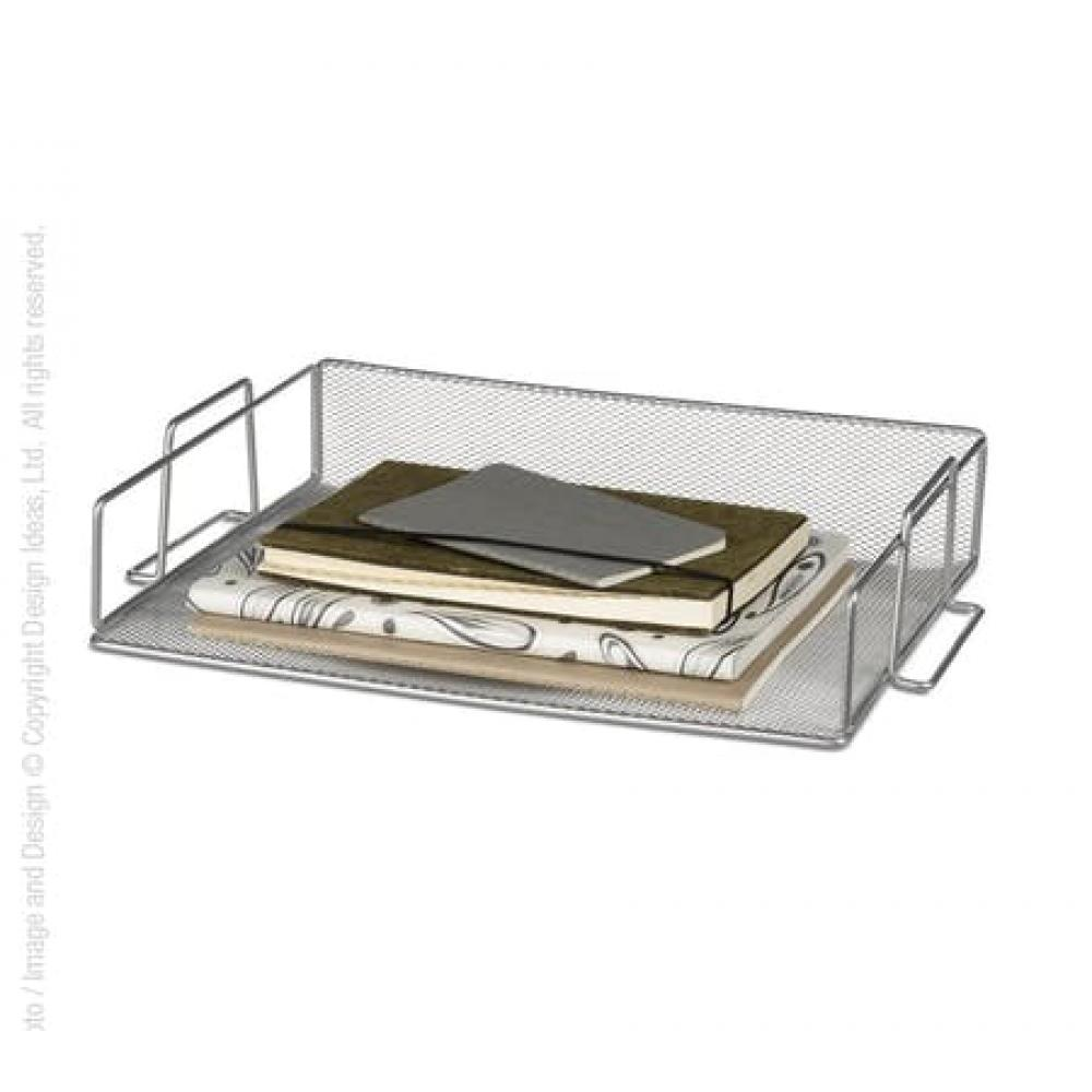 Meshworks Stackable Letter Tray Silver
