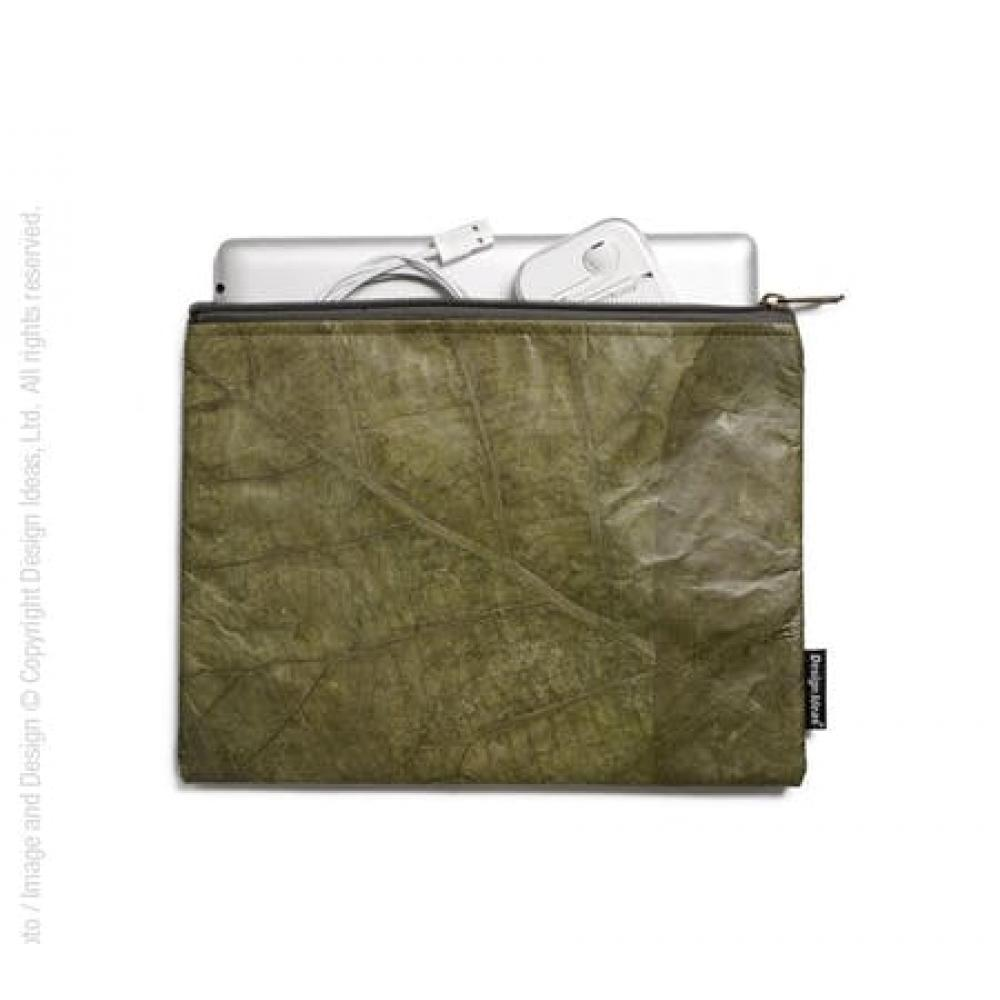 Folio Tablet Leaf Pouch Green