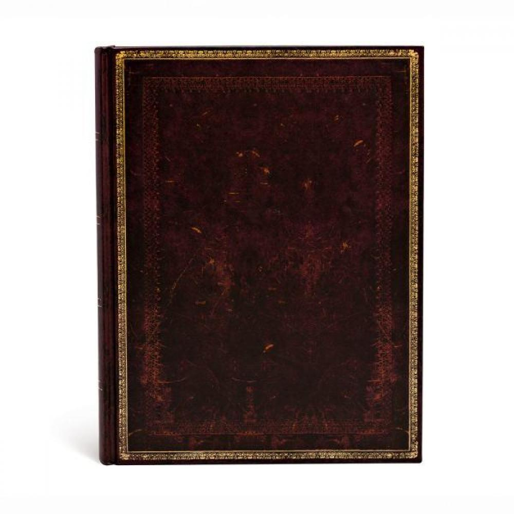 Journal - Ultra - Lined - Black Moroccan - 176 Page Count