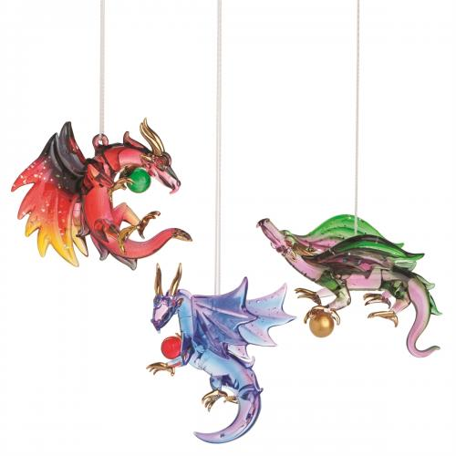 Christmas - Ornament - Wicked Dragon