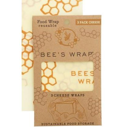 Food Saver Wax Bees Wrap 3 Piece Pack (3 Cheese)