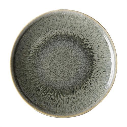 Dinnerware Reactive Glaze Plate Denim Blue 11in