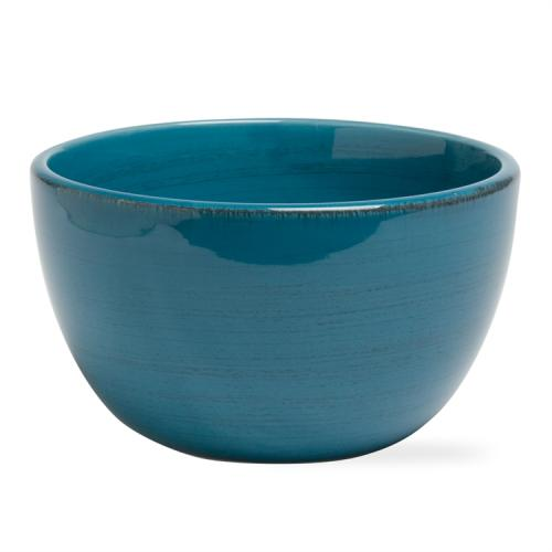 Dinnerware Sonoma Stoneware Cereal Bowl Turquoise Blue