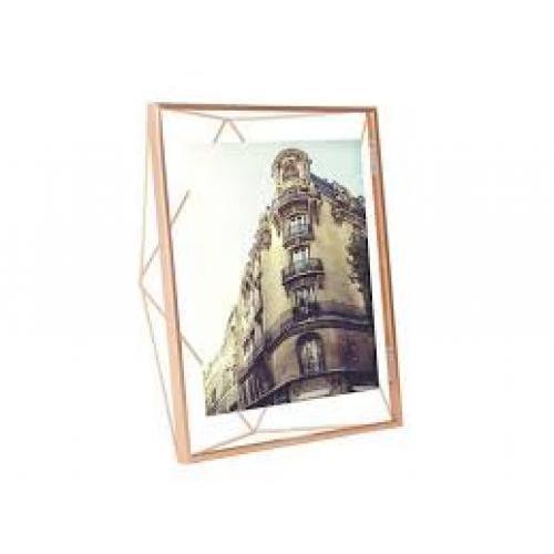 Prisma Frame Photo Display 8x10 Copper