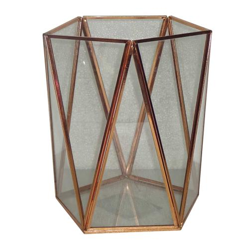 Terrarium Glass Geo Triangle-panel 8inch