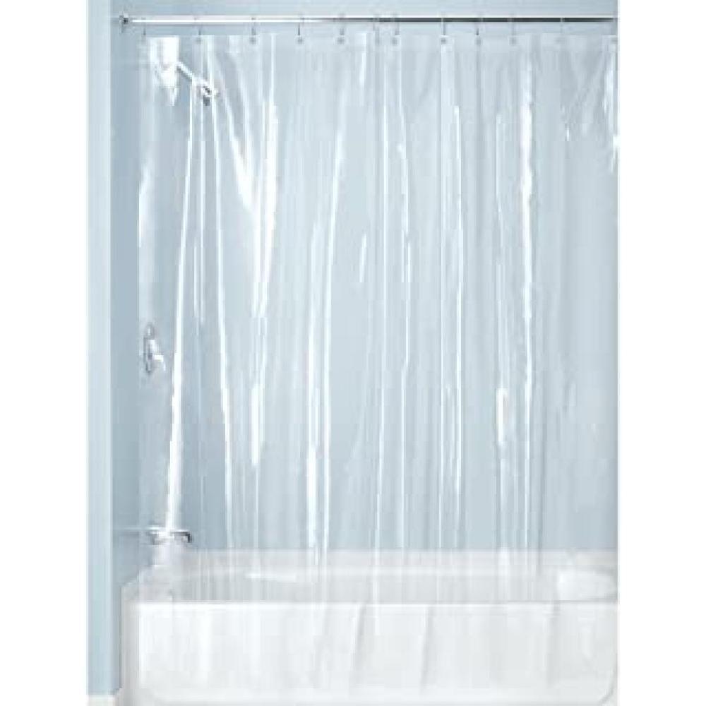 Shower Curtain Liner - Vinyl Clear 10 Gauge Extra Wide