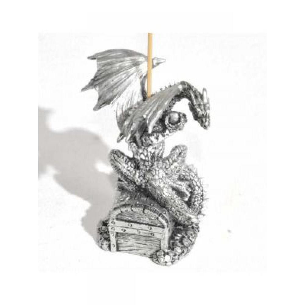 Dragon Incense Holder - Treasure Chest