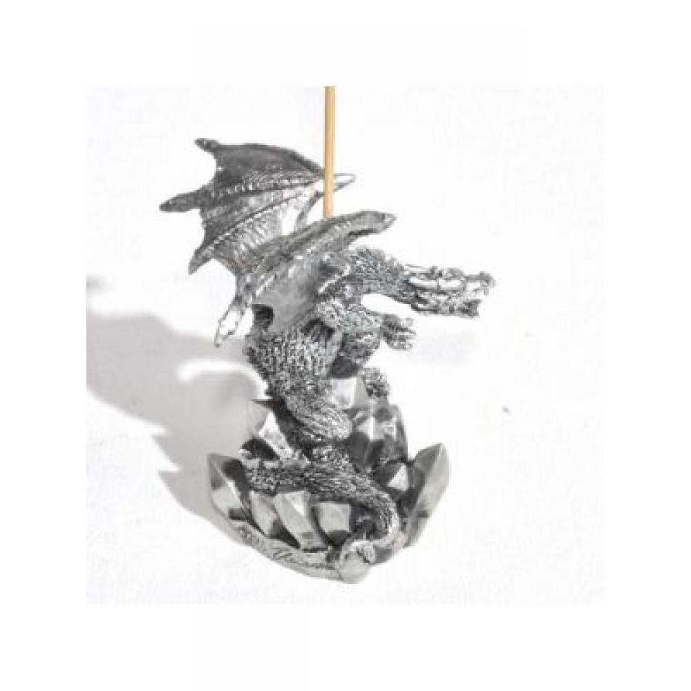 Dragon Incense Holder - Crystals