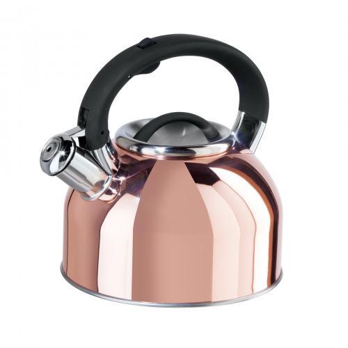 Tea Kettle Stainless Steel Whistling Copper 64oz