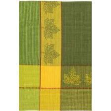 Vermont Dishtowel Maple Leaf Yellow