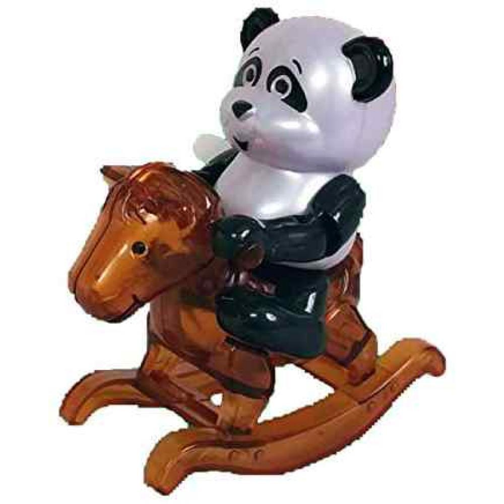 Rocking Panda Bear Rosalee Wind Up