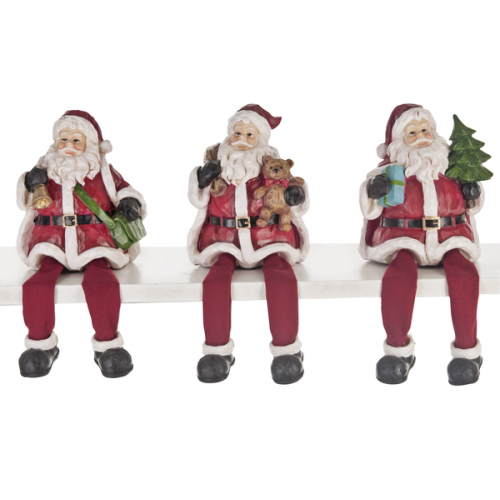 Christmas - Santa Shelf Sitters
