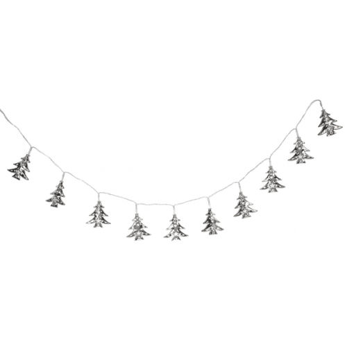 Christmas - Garland Light Up Trees