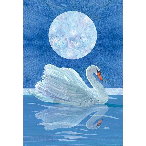 Sympathy - Moonlit Swan