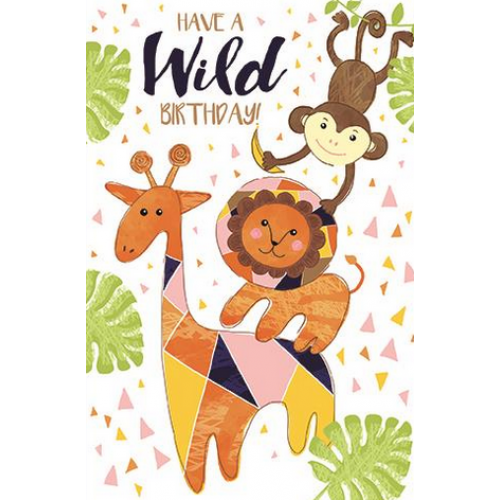 Birthday - Jungle Animals