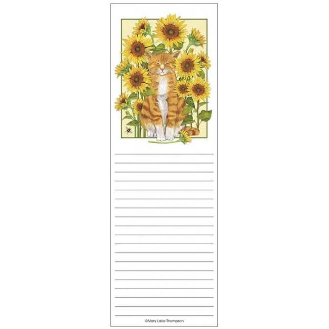Fridge Pad - Sunflower Kitty