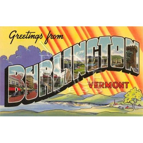 Any Occasion - Greetings From Burlington Vermont