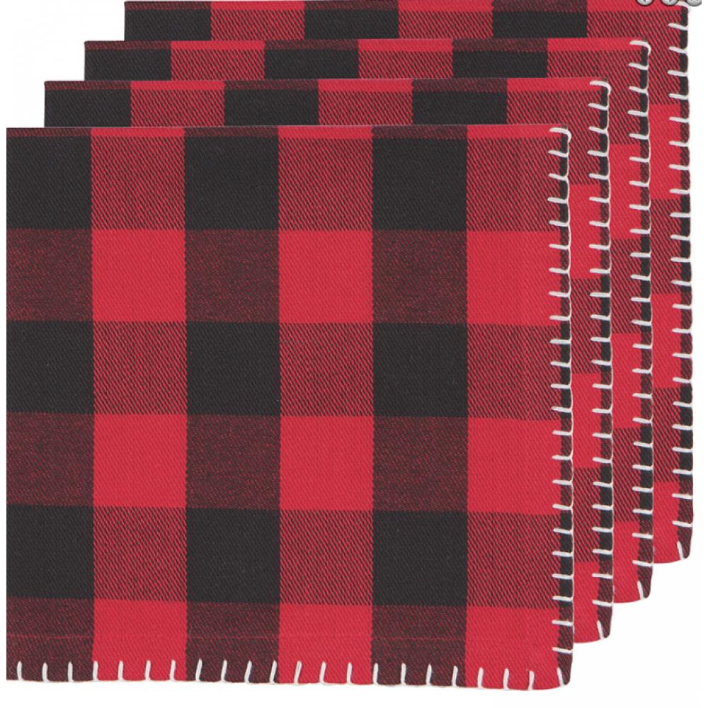 Tablecloth Buffalo Check Napkin 4 Pieces