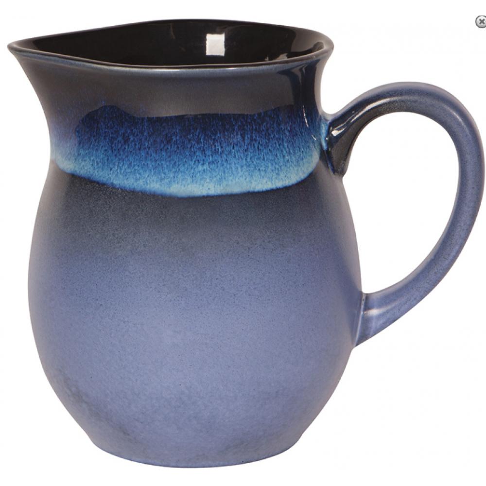 Pitcher Ceramic Reactive Glaze Meridian