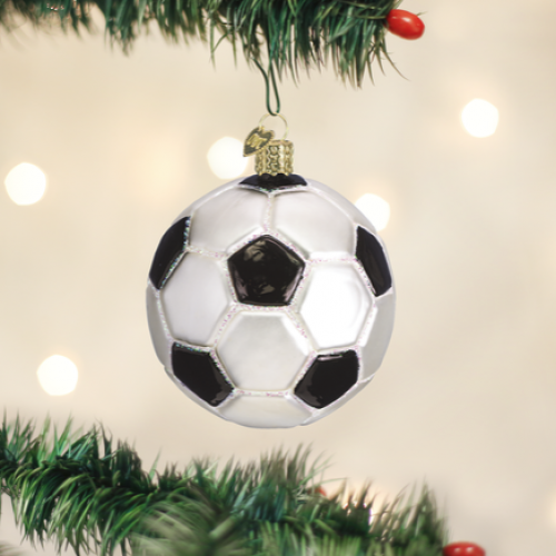 Christmas Ornament Soccer Ball