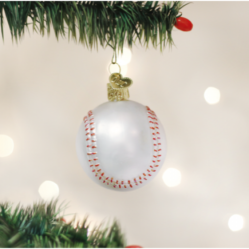 Christmas Ornament Baseball