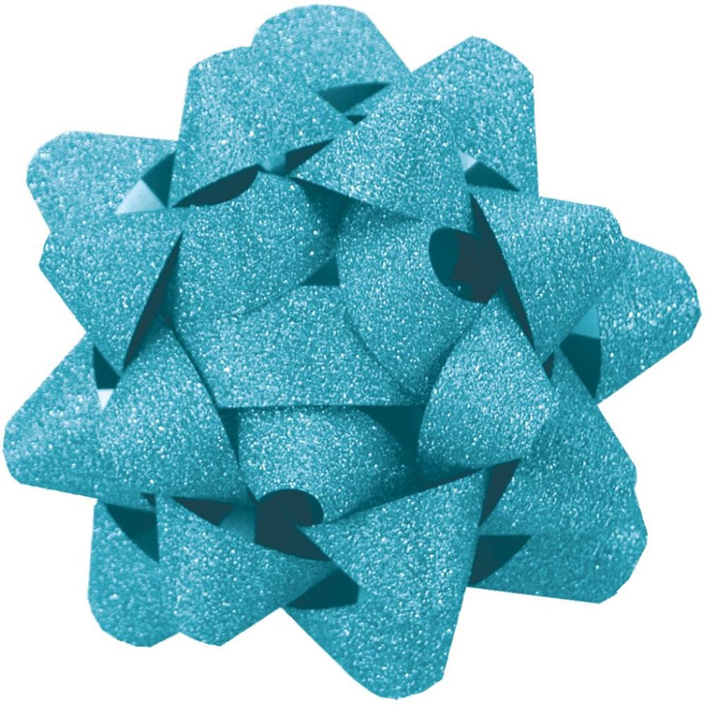 Bow Decorative Matte Glitter Marine