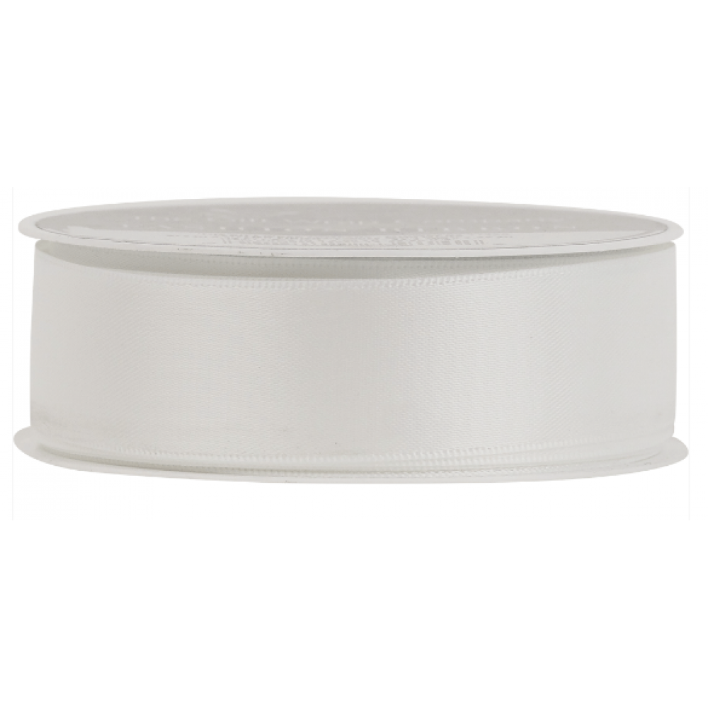 Ribbon Luxery Satin White