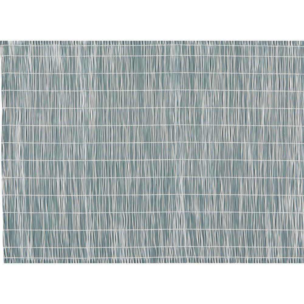 Placemat Aurora White & Blue-turquoise