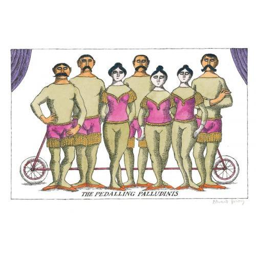 PostCards - The Pedalling Palludinis
