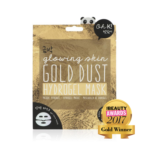 Face Mask Hydrogel Gold Dust