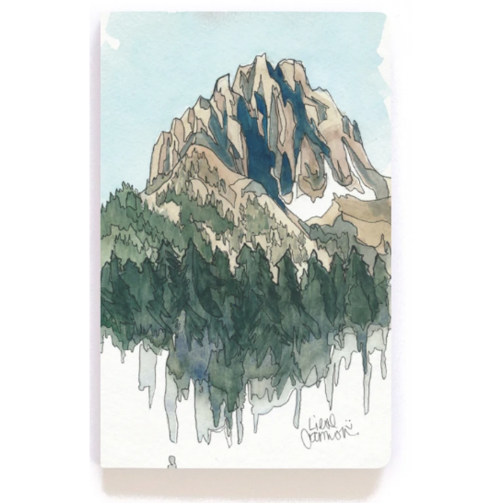 Journal - Drawing Mountains - Lined