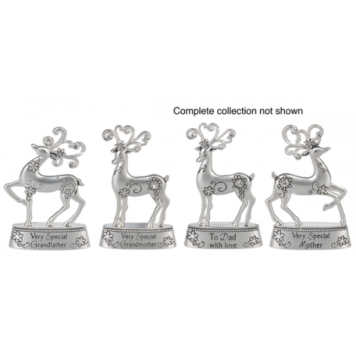 Christmas - Merry Reindeer Figurines