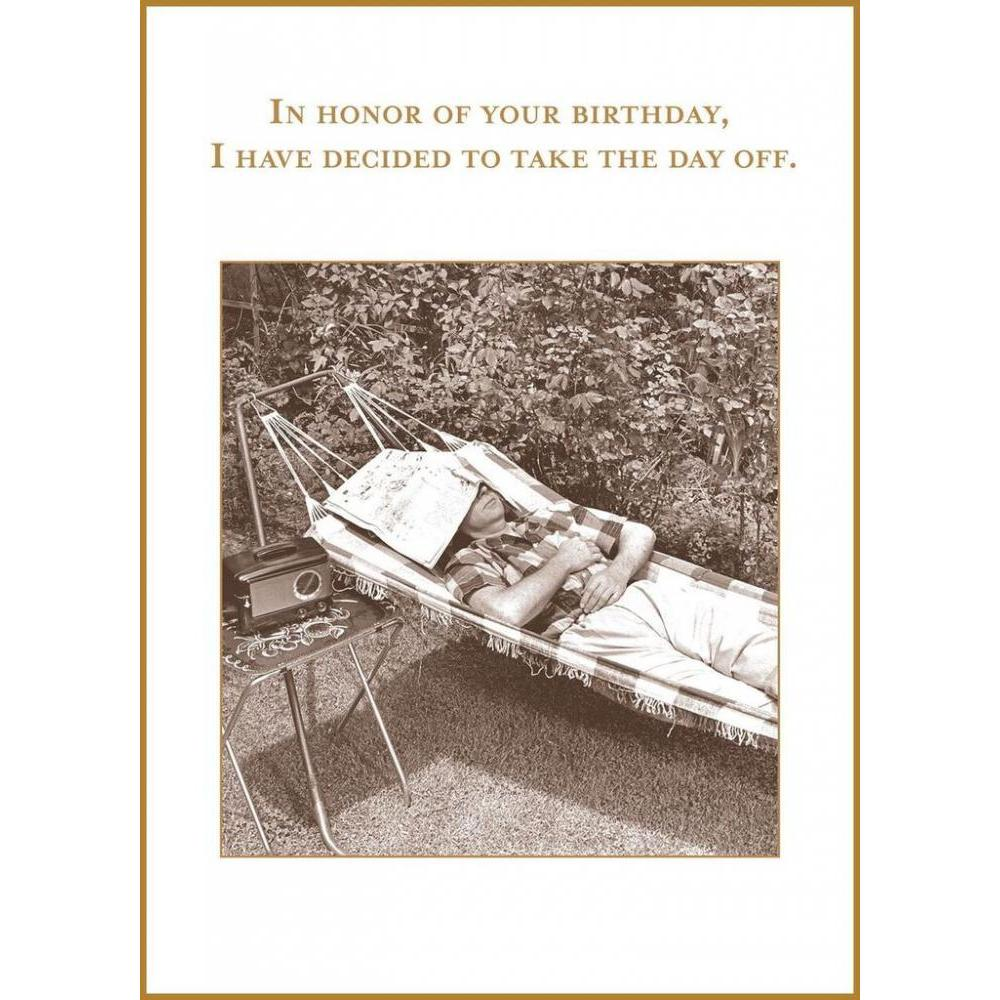 Birthday - Take The Day Off