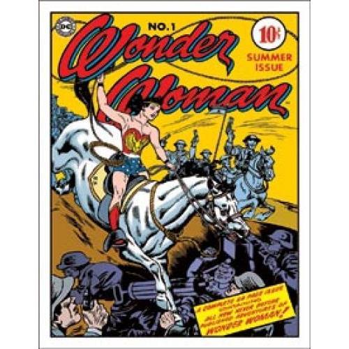 Tin Sign - Wonderwoman Cover No. 1