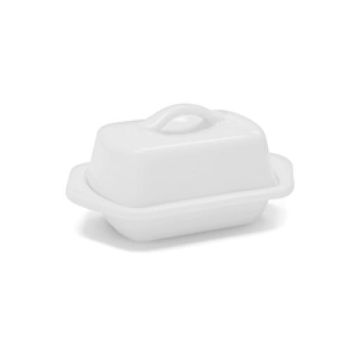 Butter Dish Mini White