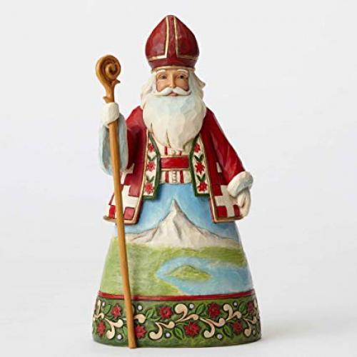 Jim Shore Figurine Swiss Santa