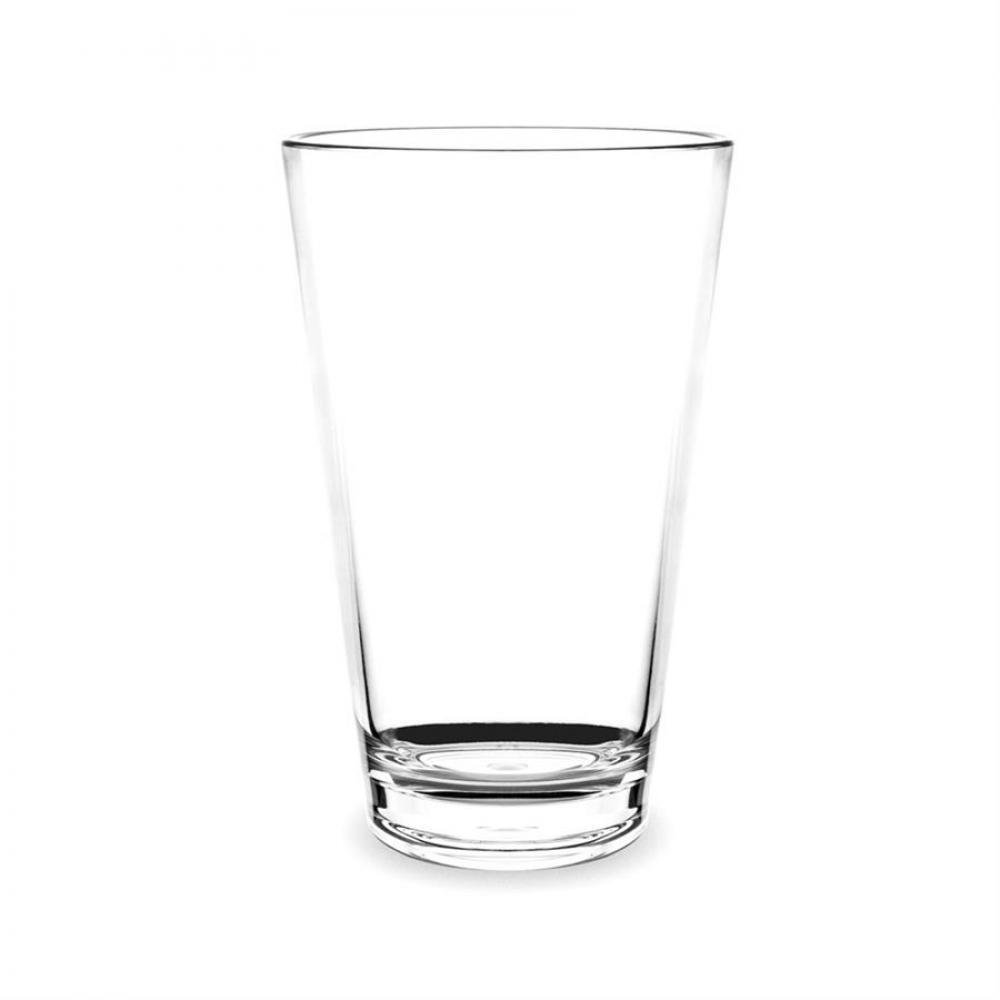 Acrylic Drinkware Unbreakable Tritan Tumbler Conical Beer 16oz