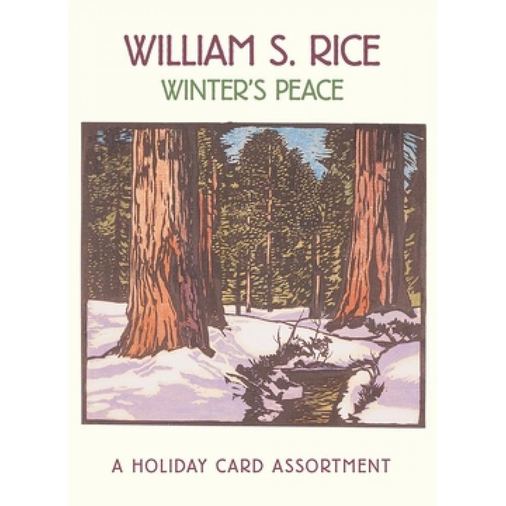 Christmas - Boxed Cards - William S. Rice - Winters Peace