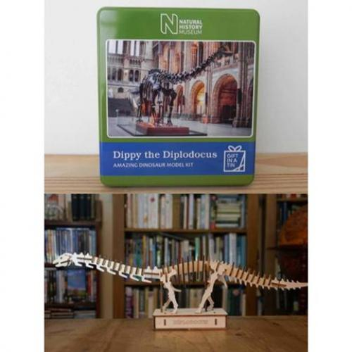 Dippy The Diplodocus In A Tin