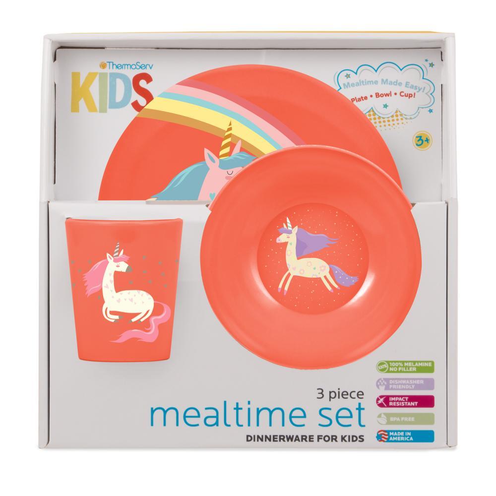 Kids Mealtime Set - Imaginary Friends - 3 Piece