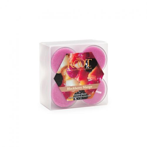 Tea Light Candle Box Of 8 (1.49 Each) Blackberry Mango