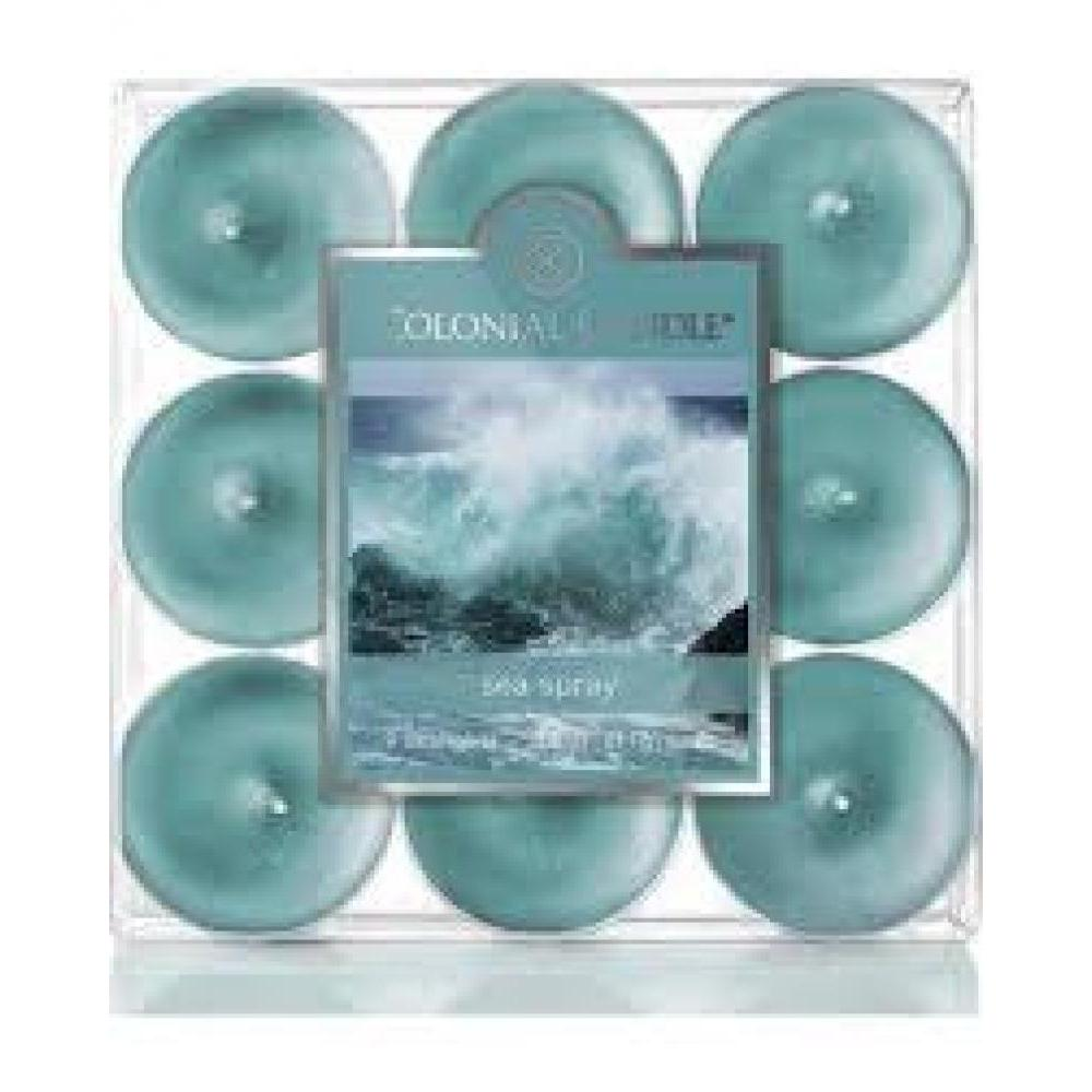 Tea Light Candle Pack Of 9 Sea Spray