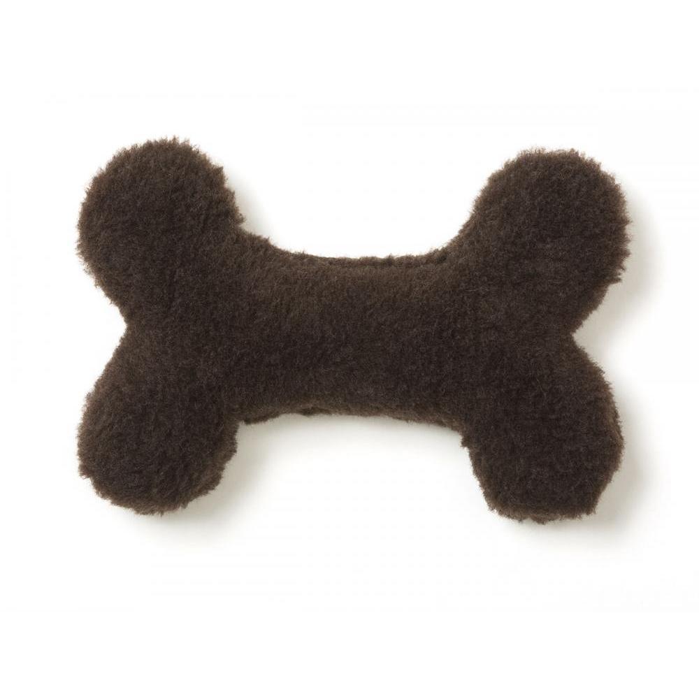 Pet Dog Toy Montana Bone Mini Chocolate
