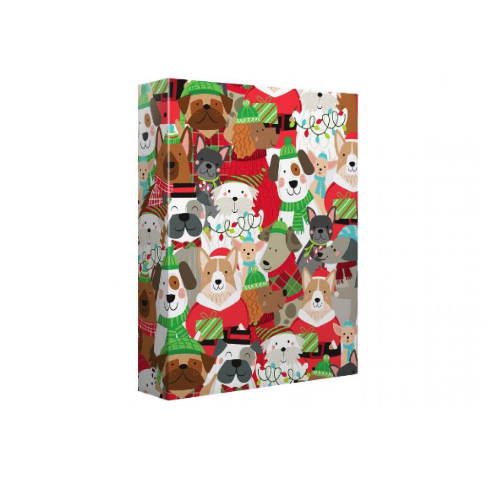 Gift Wrap - Jingle Pups - Jumbo