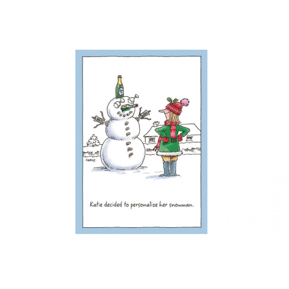 Christmas - Personalize Her Snowman