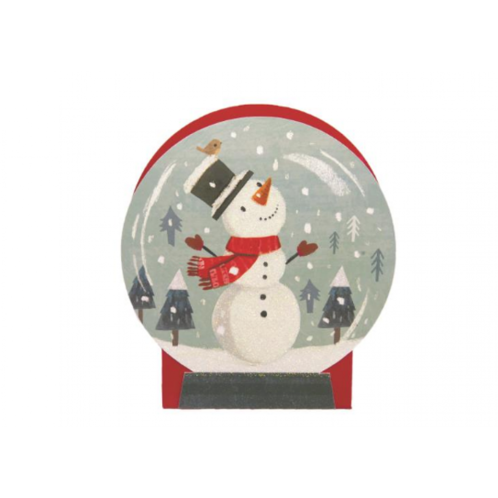 Gift Bag - Mini - Snowglobe Snowman