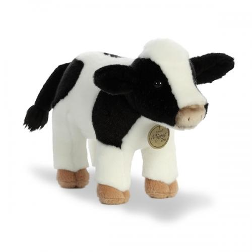 Miyoni Tots Holstein Calf 11in Stuffed Animal