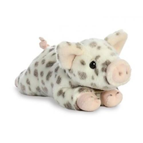Miyoni Spotted Piglet 11in Stuffed Animal