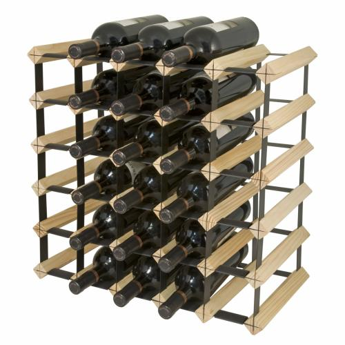 Wine Rack Kit - 30 Bottle - Natural Finish