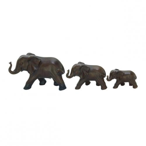 Elephants Ceramic 3in Small-6.99 5in Medium-9.99 7in Large- 11.99 (set Sold Separately)